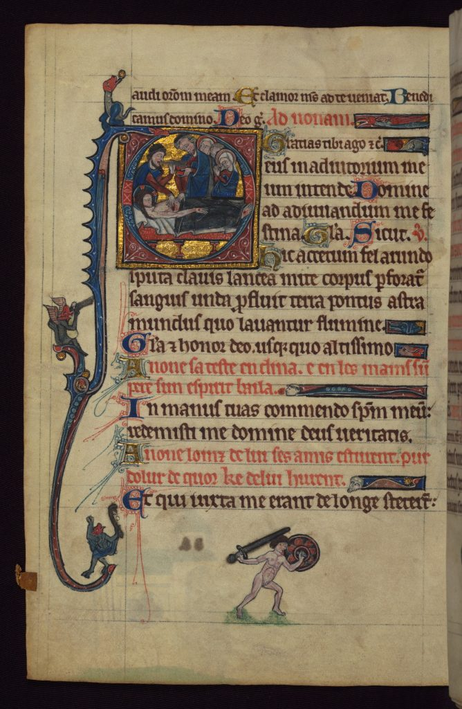 English Book of Hours late 13th century