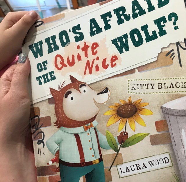 Who's Afraid of the Quite Nice Wolf by Kitty Black (3)