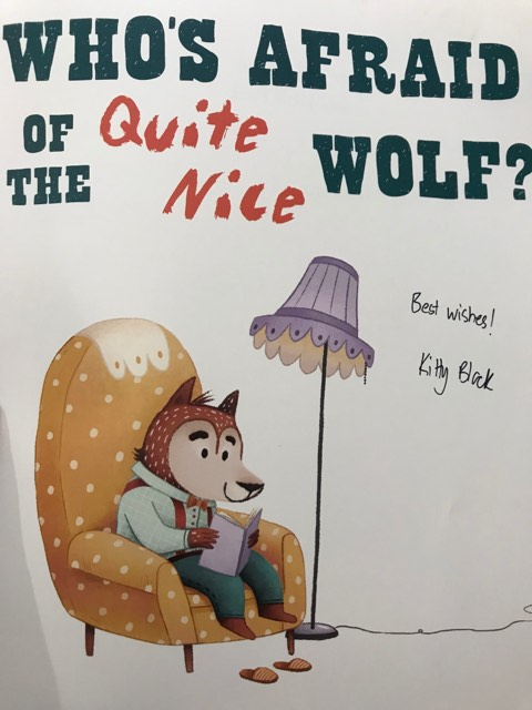 Who's Afraid of the Quite Nice Wolf by Kitty Black (4)